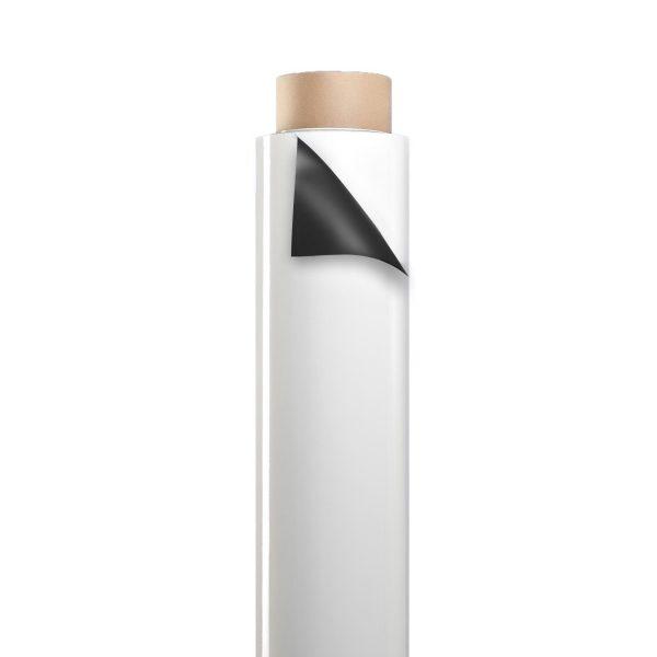 "48"" White 30 mil Dry Erase Magnet Sheet Roll"