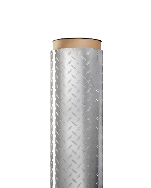 "24"" Tread Plate Dry Erase Magnet Sheet Roll"