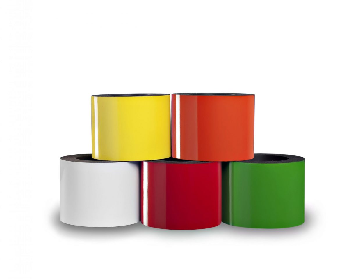 Dry Erase Magnetic Strip 25' Roll