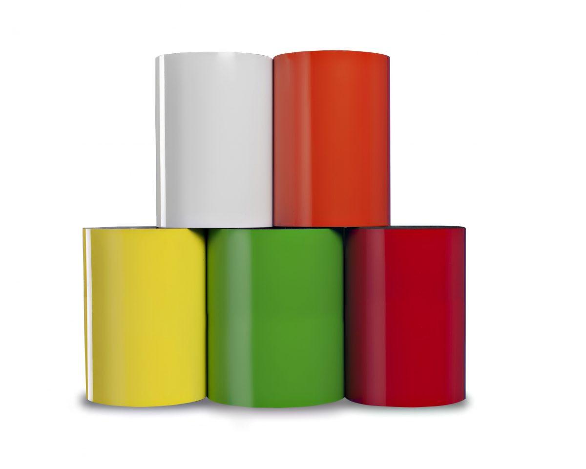 """8"""" Dry Erase Magnet 30 mil Shelf Labels"""