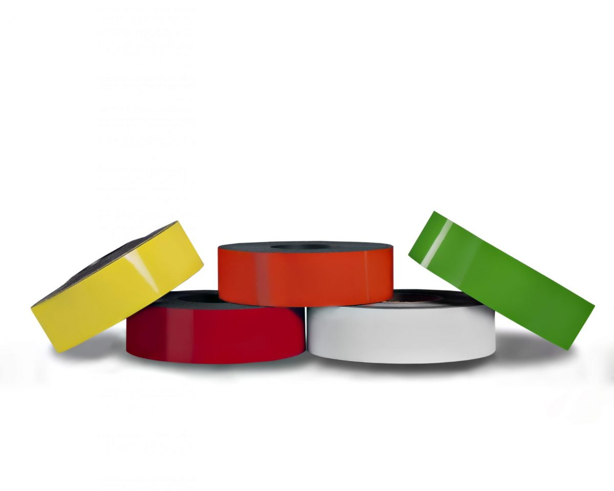 Dry Erase Magnetic Strip 10' Roll