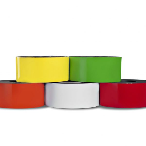 Dry Erase Magnetic Strip 100' Roll