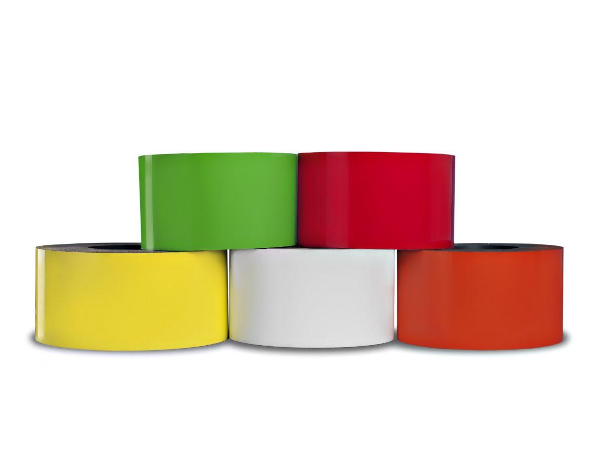"""12"""" Dry Erase Magnet 30 mil Shelf Labels"""