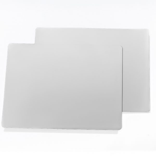 "12"" White Dry Erase 60 mil Magnet Shelf Labels"