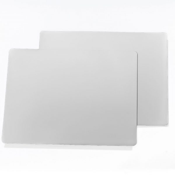 "12"" White Dry Erase 60 mil Magnet Shelf Labels"