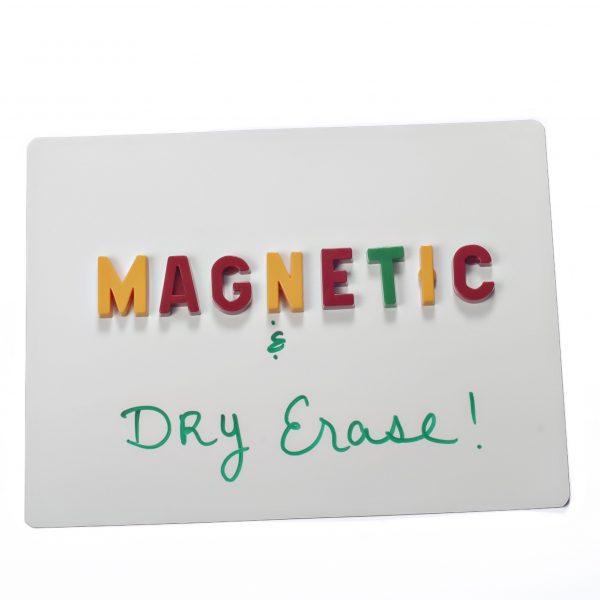 """Dry Erase White Magnet Sheet - 12"""" X 18"""" - 1 Sheet"""