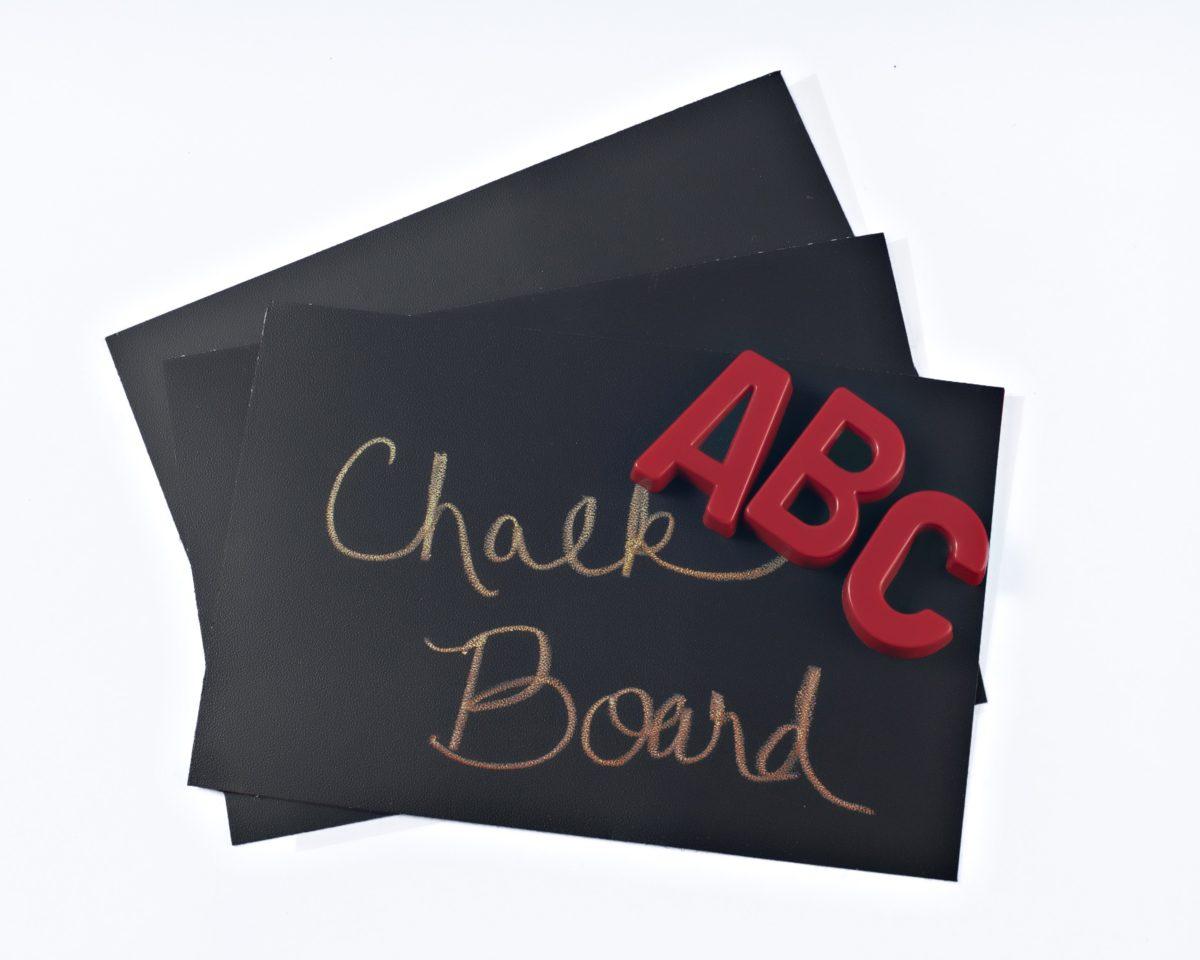 Chalkboard Sheet Sample