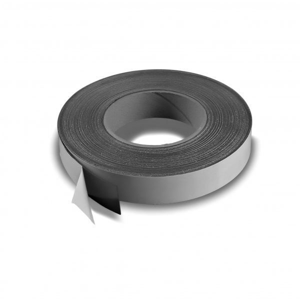 "1"" Adhesive Magnetic Tape 30 mil Strip Roll"