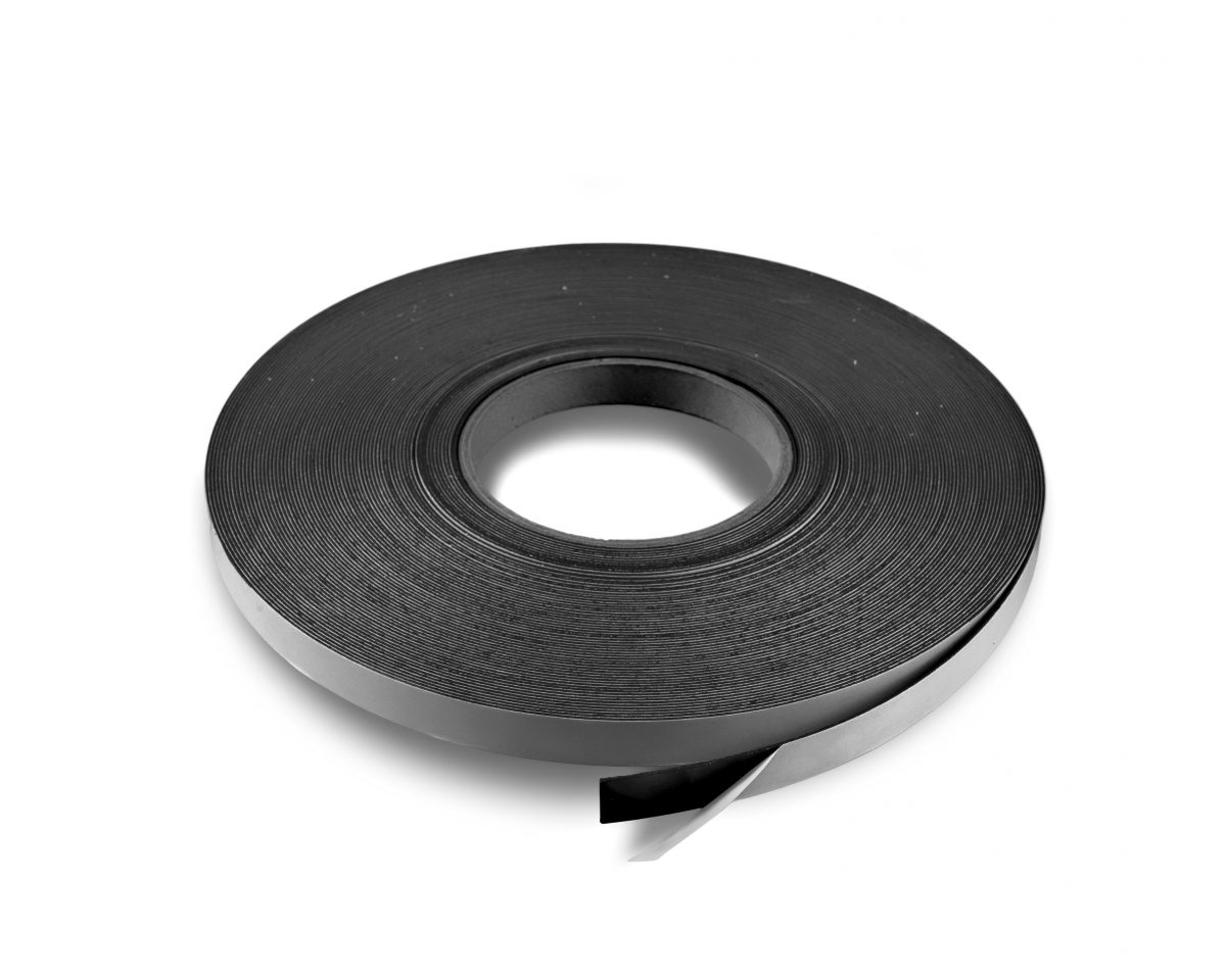"""1"""" x 100' 60 mil Indoor Adhesive Magnet Roll Sale"""