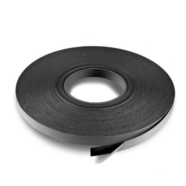 """.5"""" Adhesive Magnetic Tape 60 mil Strip Roll"""