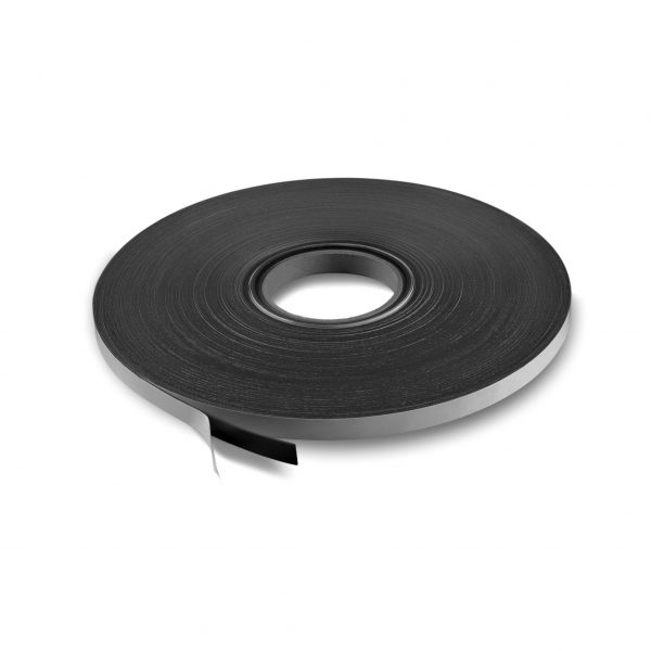 """.5"""" Adhesive Magnetic Tape 30 mil Strip Roll"""