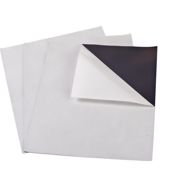 "20 mil 5"" x 8"" Indoor Adhesive Magnet Sheets"