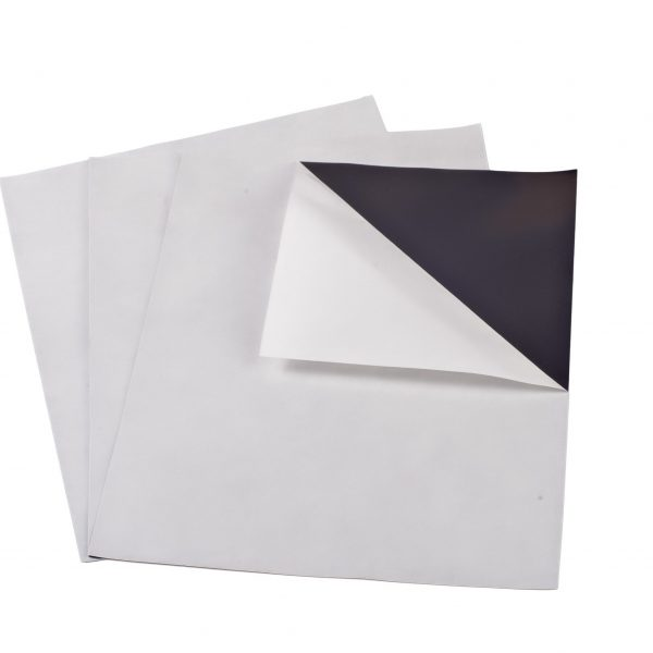 """20 mil 8.5"""" x 11"""" Indoor Adhesive Magnet Sheets"""