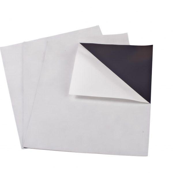 """8.5"""" x 11"""" Adhesive Magnet Photo Sheet 20 mil"""