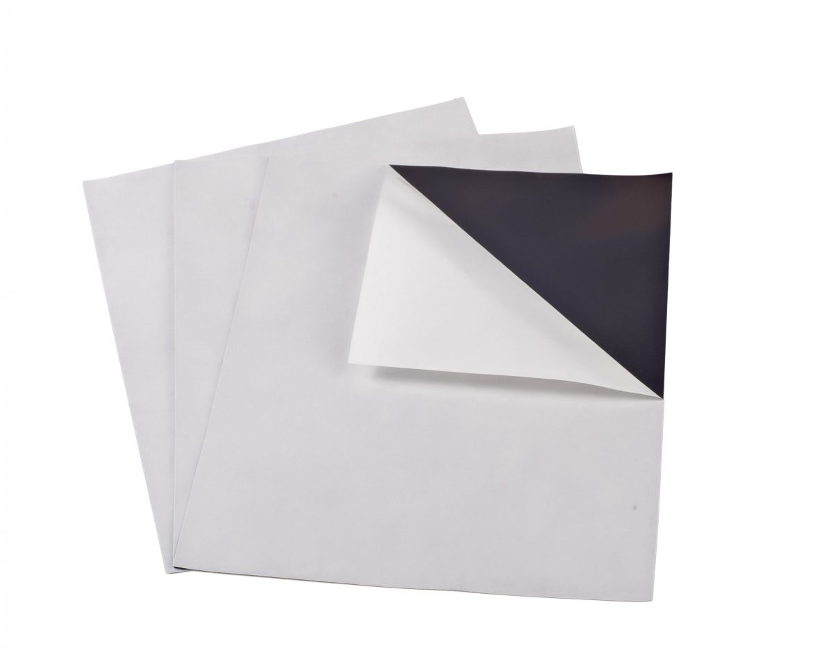 """30 mil 4"""" x 6"""" Indoor Adhesive Magnet Sheets"""