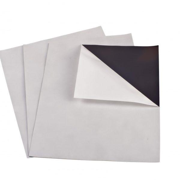 "15 mil 8.5"" x 11"" Indoor Adhesive Magnet Sheet"