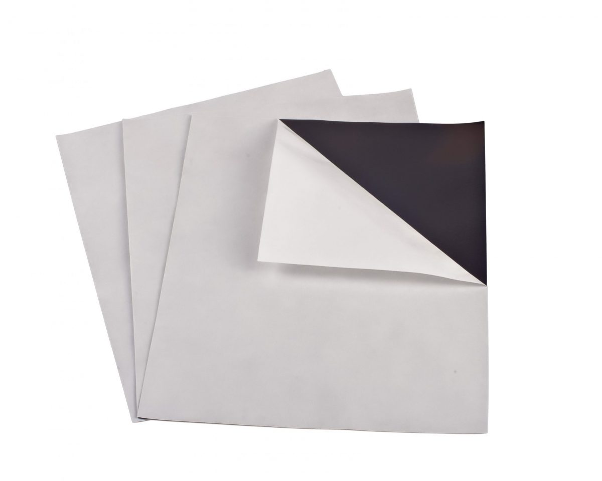 """30 mil 8"""" x 10"""" Indoor Adhesive Magnet Sheets"""