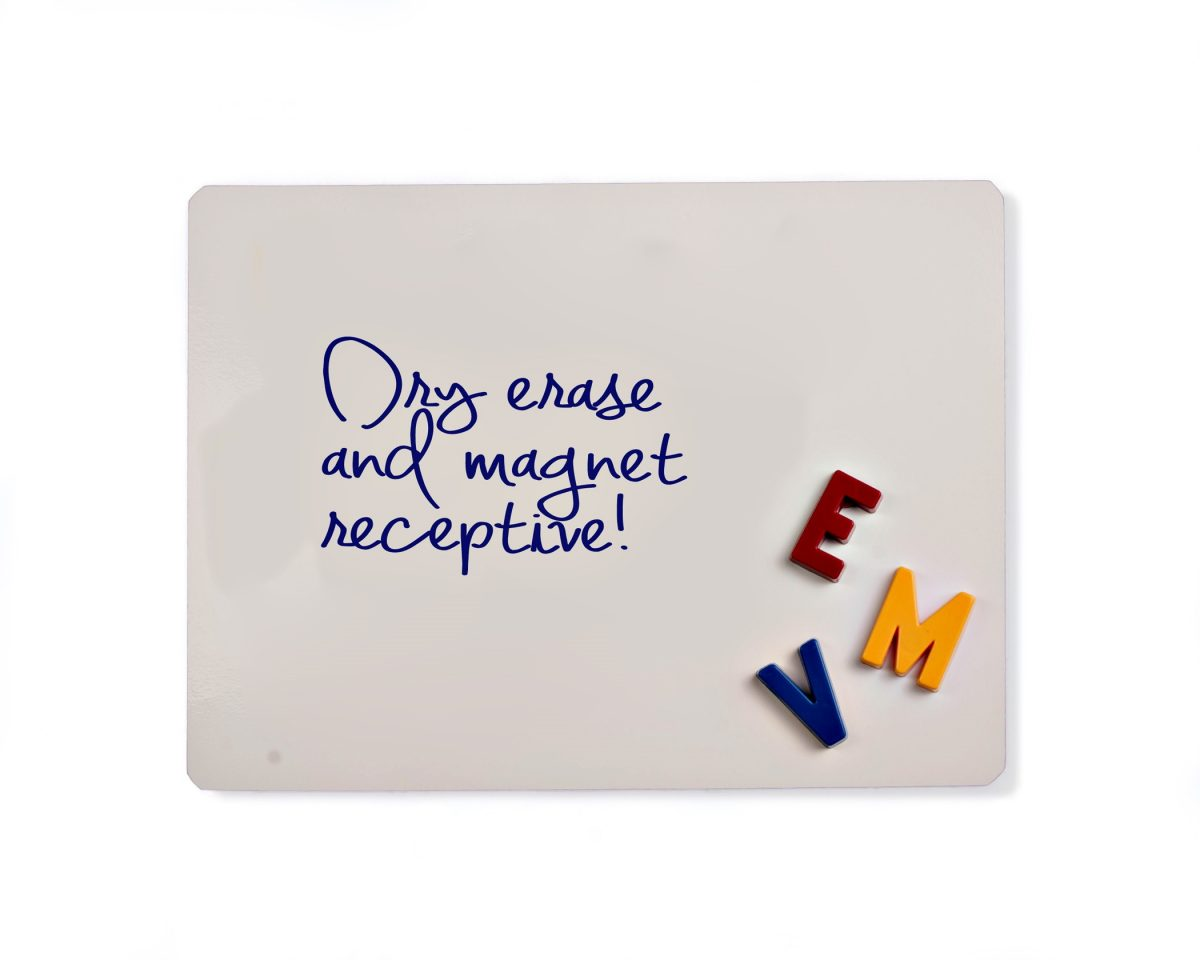 Mini Dry Erase Whiteboard Sheets - 5 Pack