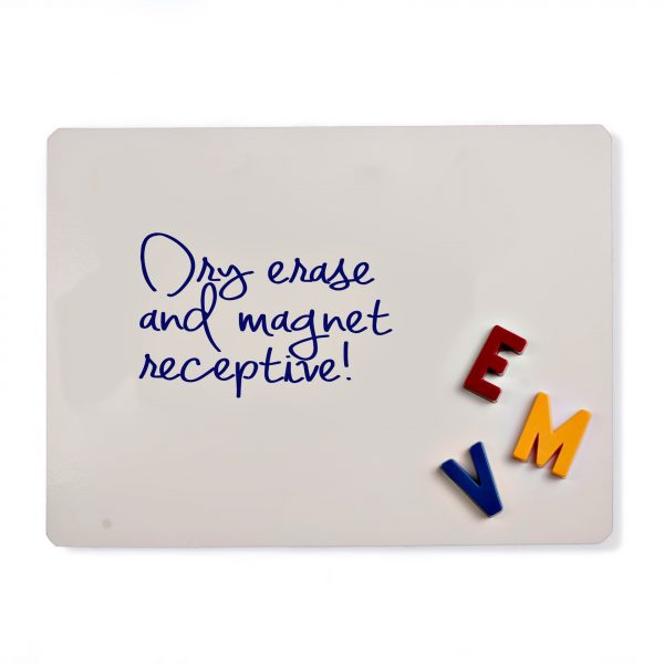 Dry Erase Magnetic Receptive Material