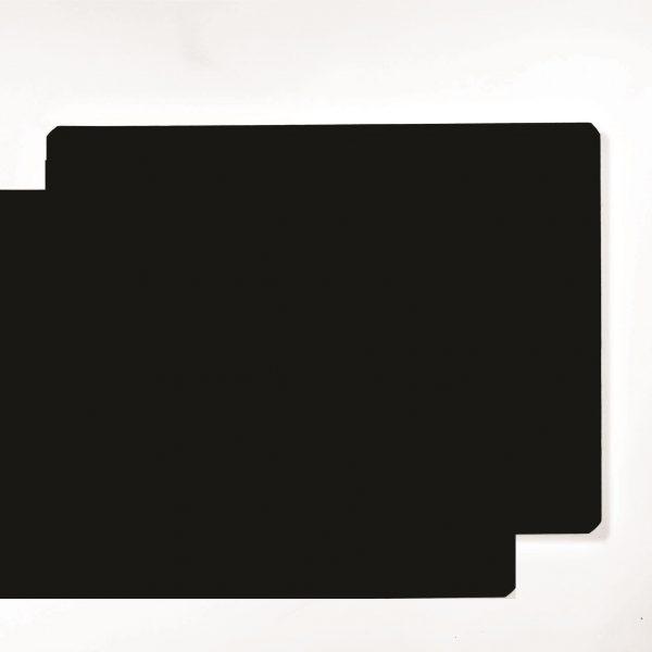 "12"" x 18"" Black Vinyl Sign Blank Magnets"