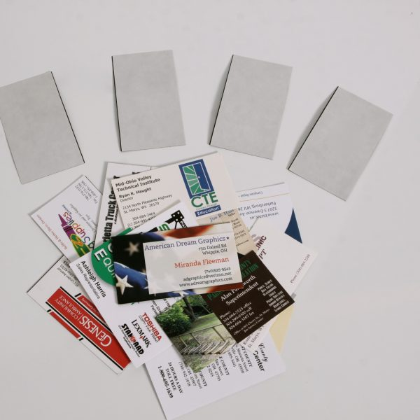 20 mil Adhesive Business Card Magnets