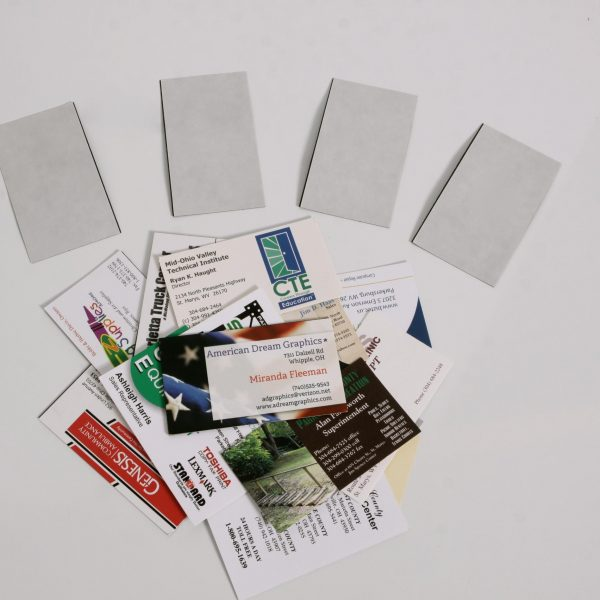 30 mil Adhesive Business Card Magnet