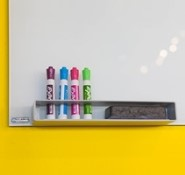 Dry Erase Whiteboard With Markers Blog Photo