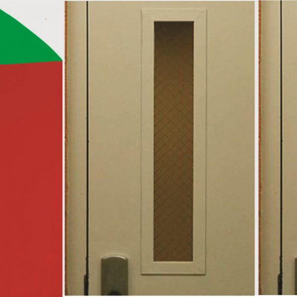 """24"""" Double Sided Magnet Green and Red By The Foot"""